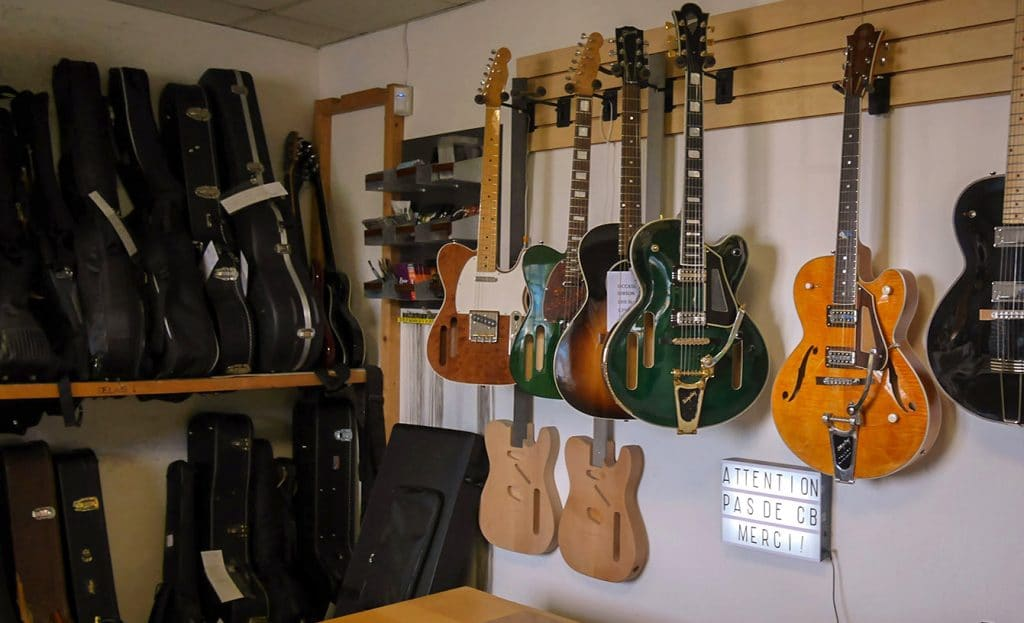 Exposition guitare