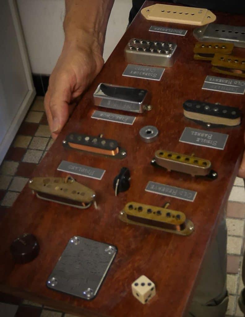 Exemple de micros de guitare