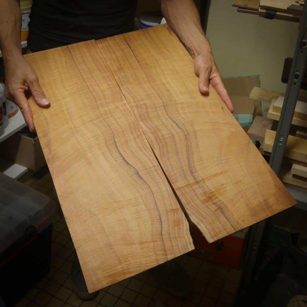 Placage de bois